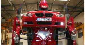 أبو ظبي تشهد عرض أول سيارة في العالم تتحول إلى روبوت عملاق